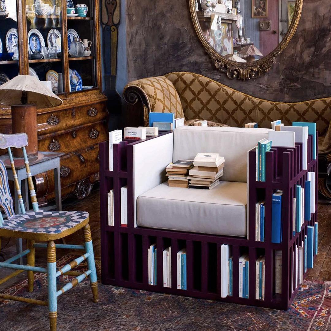 Bibliochaise: Een stoel als boekenkast