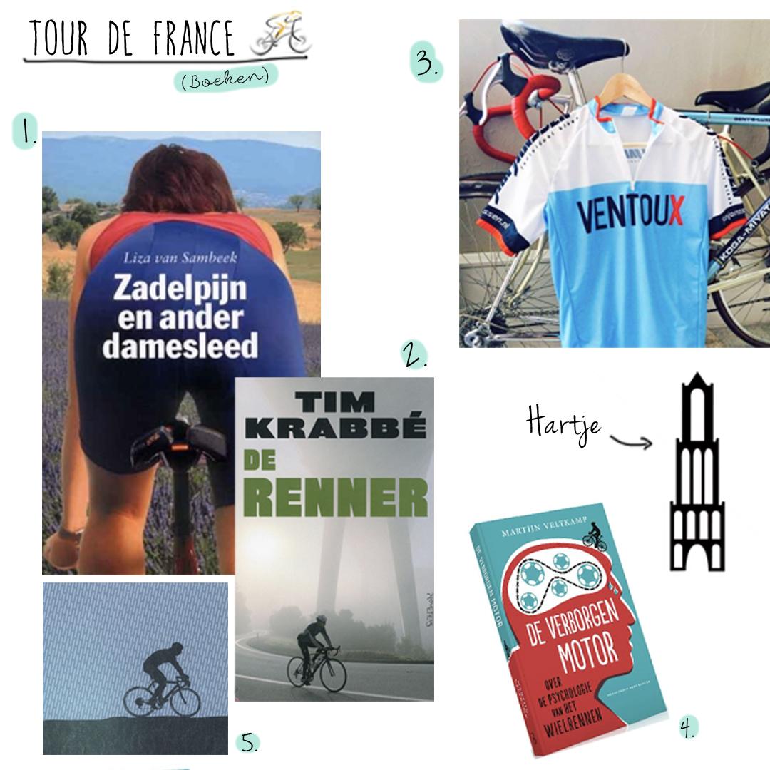 5x boeken om te lezen tijdens de Tour de France