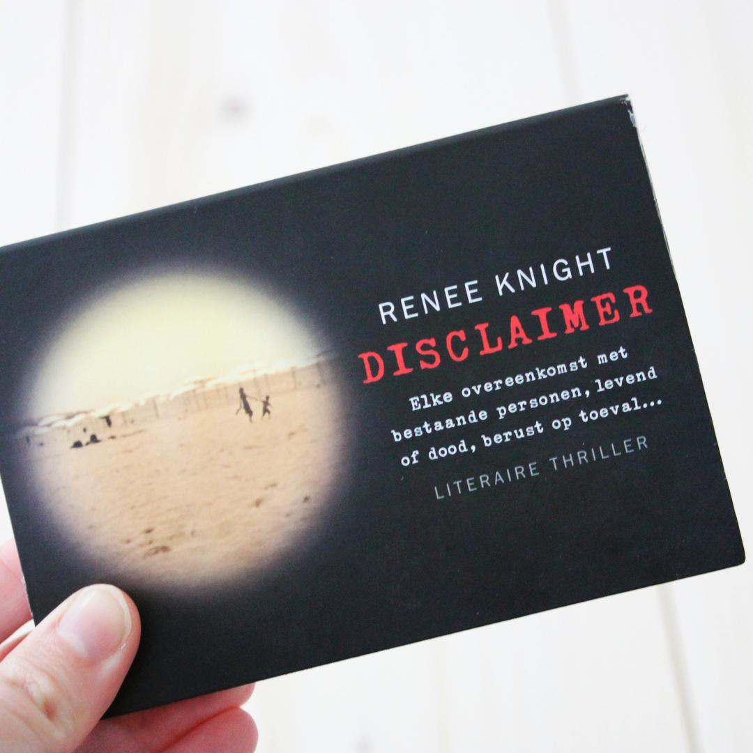 Boekrecensie: Renée Knight - Disclaimer (Het boek over jou)