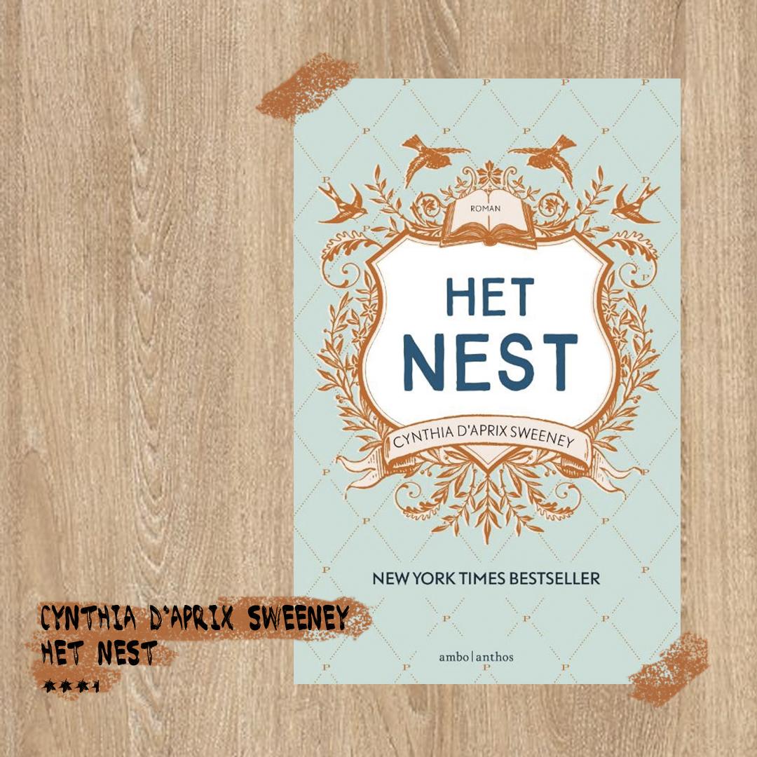 Boekrecensie: Cynthia Sweeney - Het nest