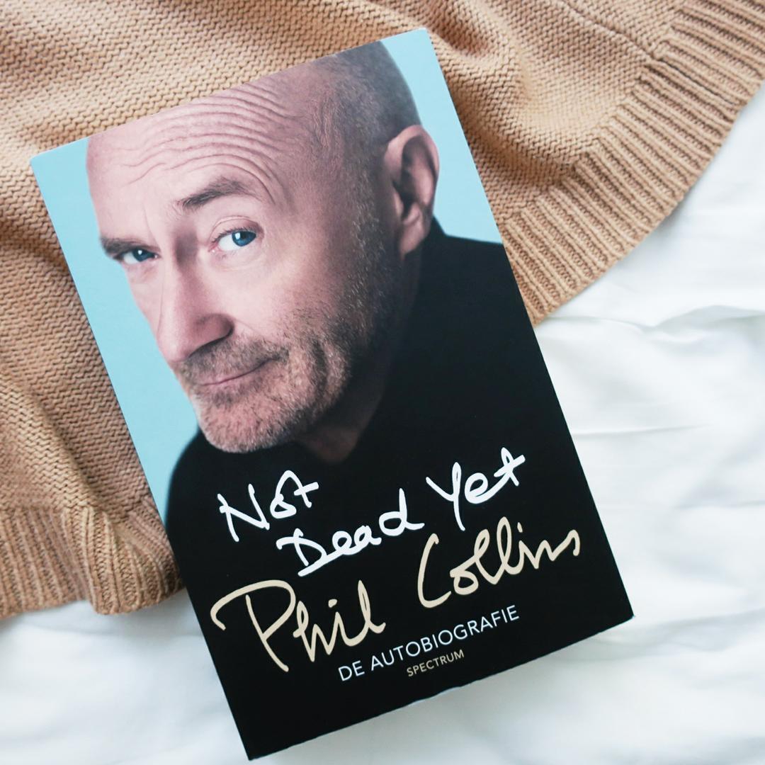 Boekrecensie: Phil Collins - Not dead yet