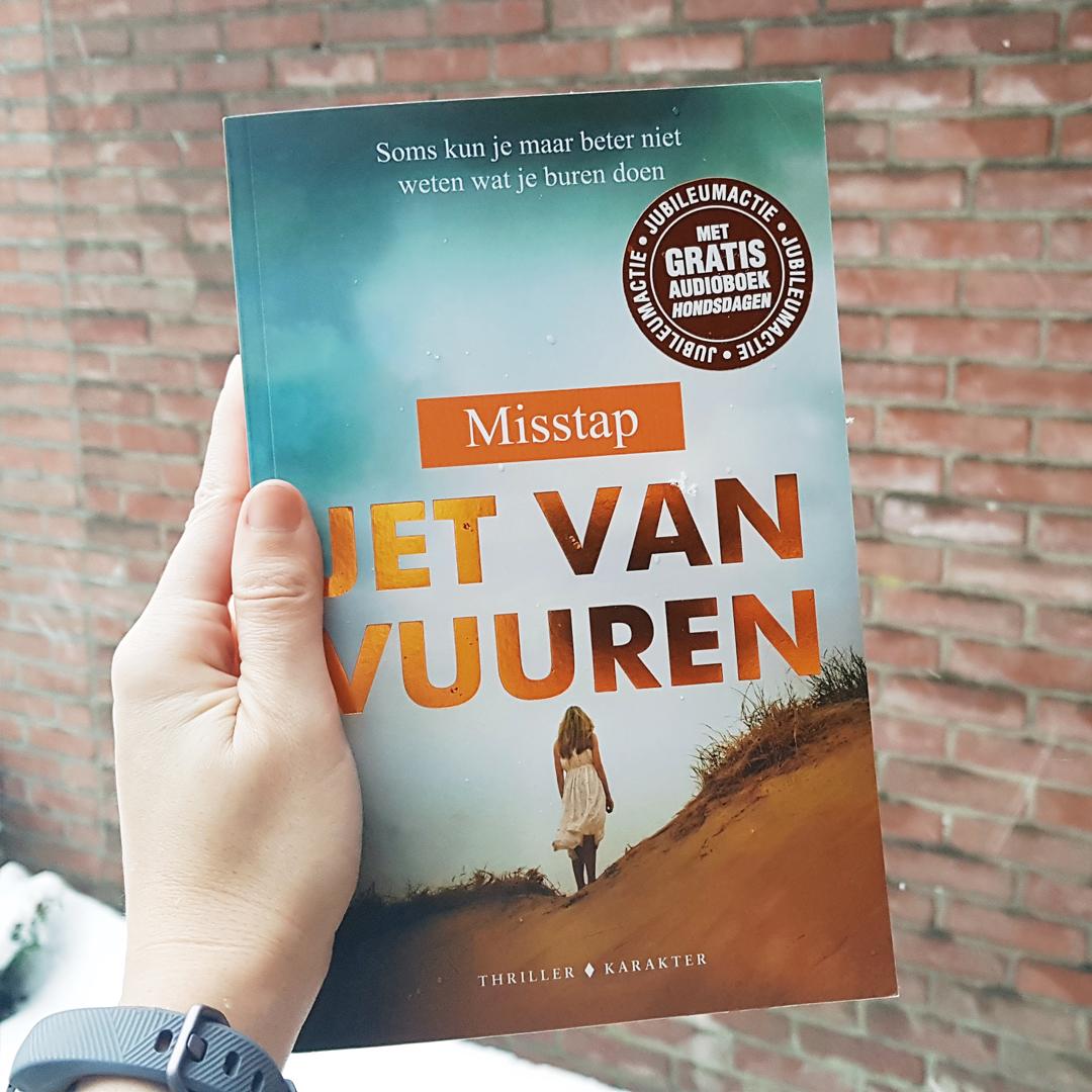 Boekrecensie: Jet van Vuuren – Misstap