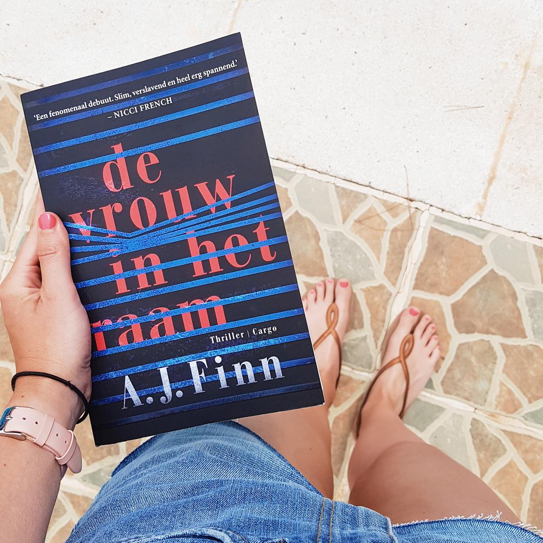 Boek: A.J. Finn - De vrouw in het raam (gelezen op Ibiza)