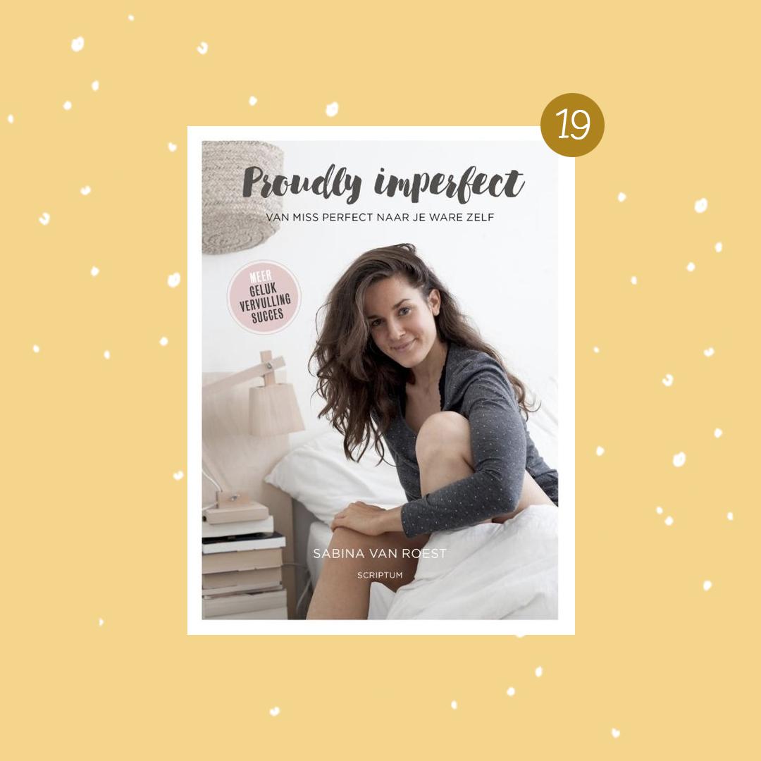 De leukste boeken om cadeau te doen met kerst: Proudly Imperfect (kerstcadeaus)