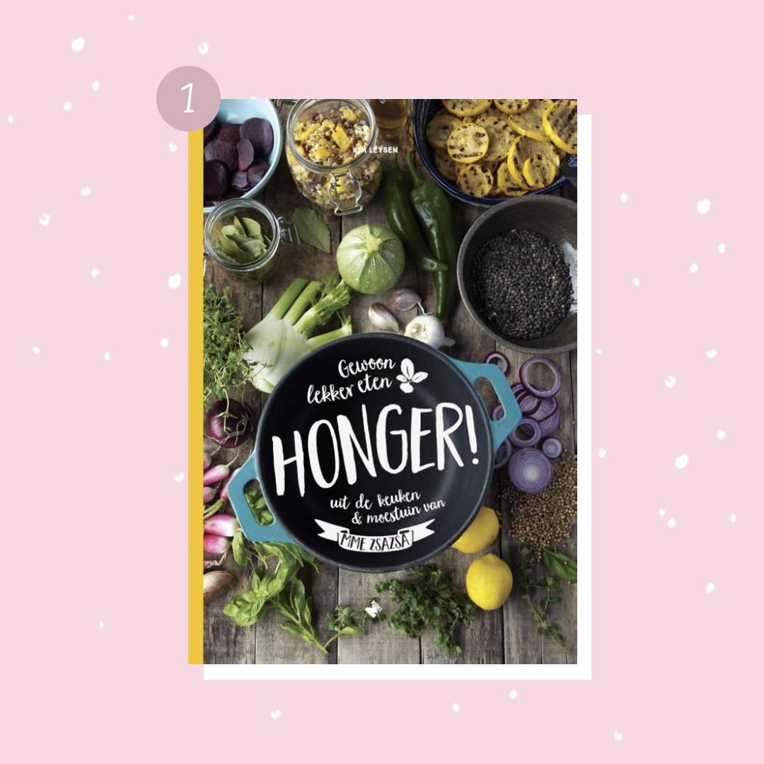 De leukste boeken om cadeau te doen met kerst: Mme Zsazsa - Honger! (kerstcadeaus)