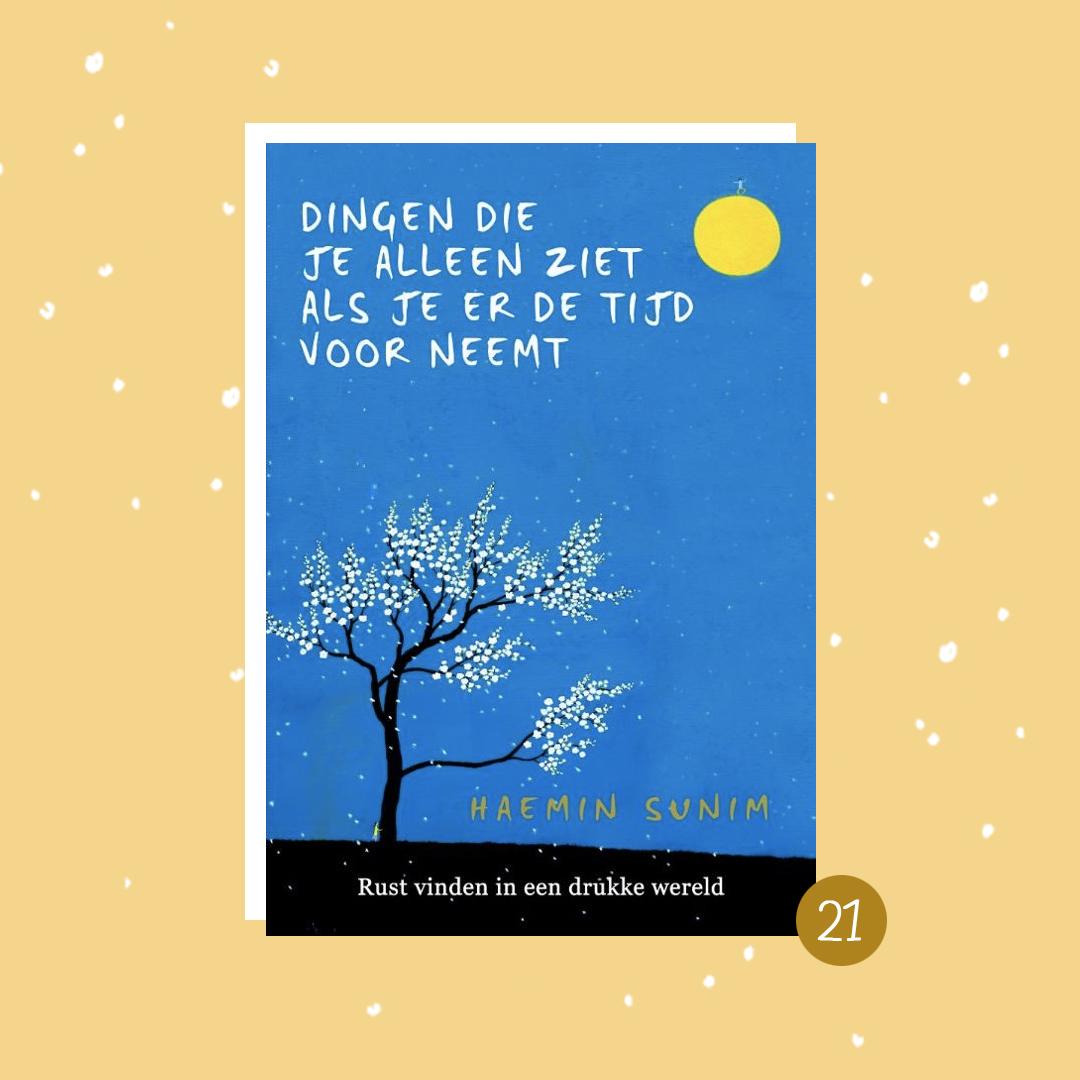 De leukste boeken om cadeau te doen met kerst: Dingen die je alleen ziet als je er de tijd voor neemt (kerstcadeaus)