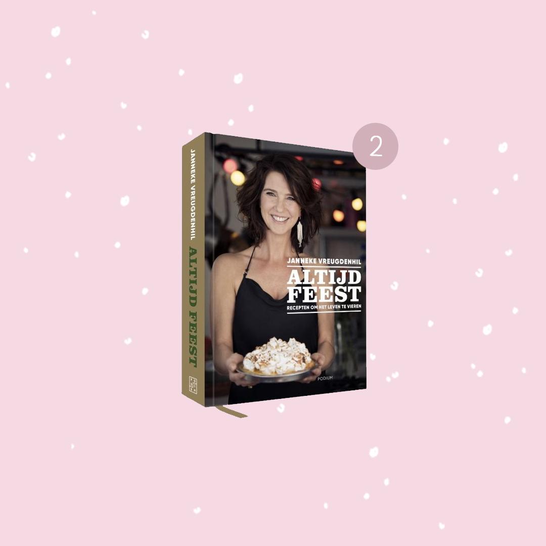 De leukste boeken om cadeau te doen met kerst: Janneke Vreugdenhil - Altijd feest (kerstcadeaus)