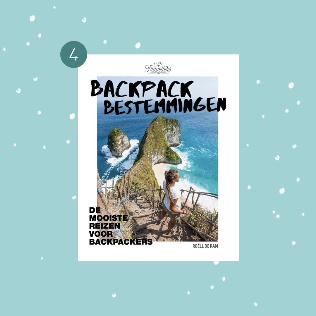 De leukste boeken om cadeau te doen met kerst: Roëll de Ram - Backpack bestemmingen (kerstcadeaus)