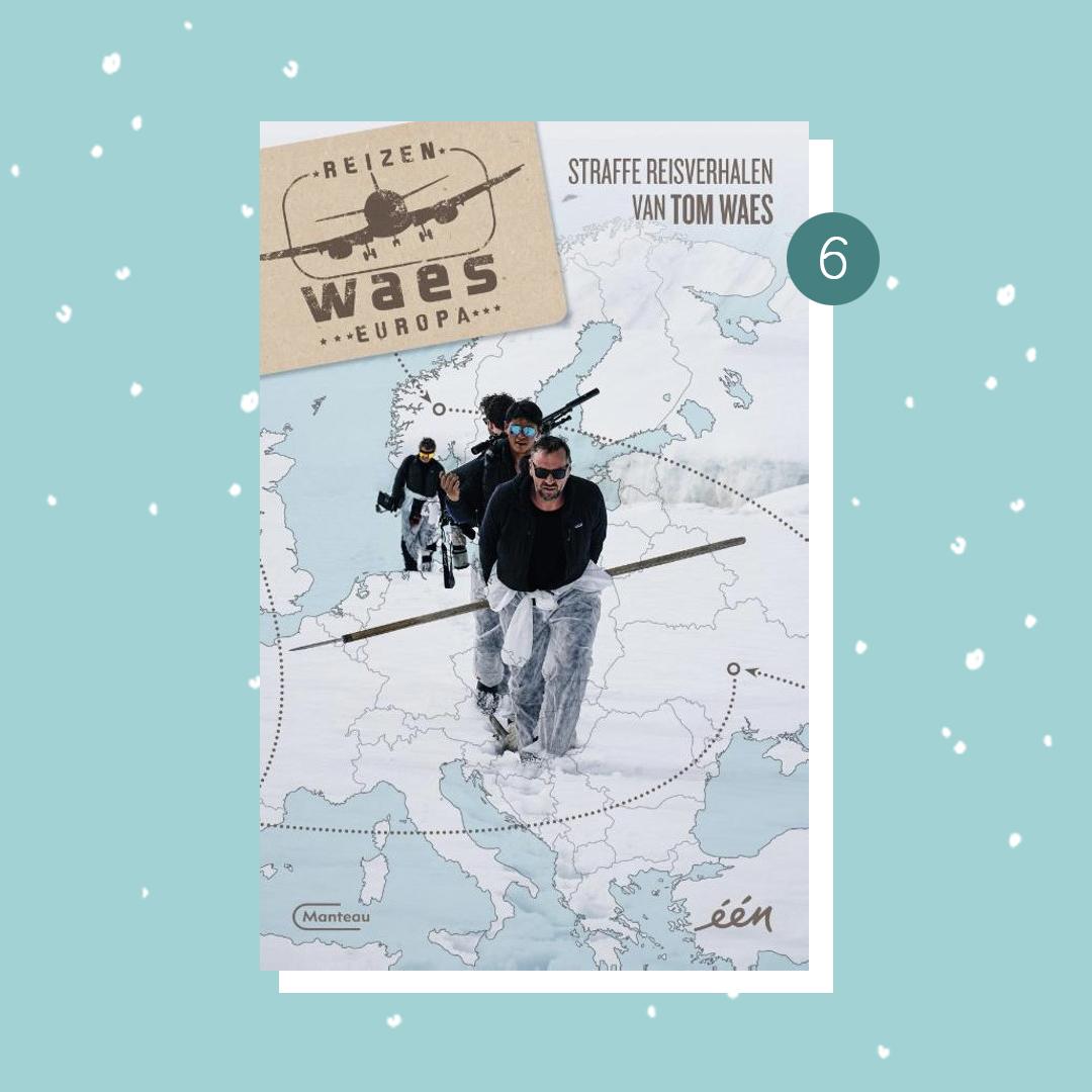 De leukste boeken om cadeau te doen met kerst: Tom Waes - Reizen Waes Europa (kerstcadeaus)
