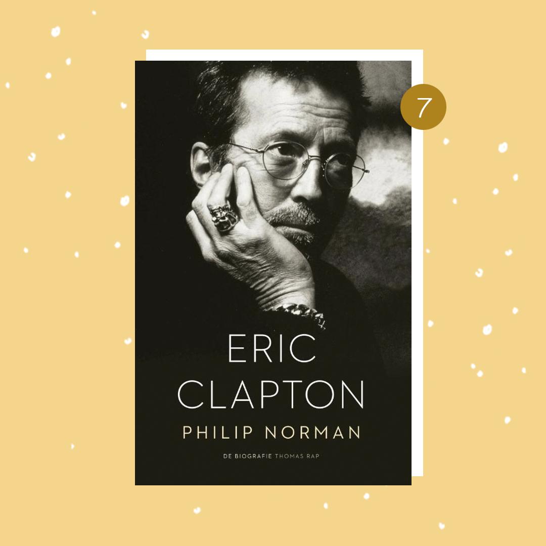 De leukste boeken om cadeau te doen met kerst: Eric Clapton (kerstcadeaus)