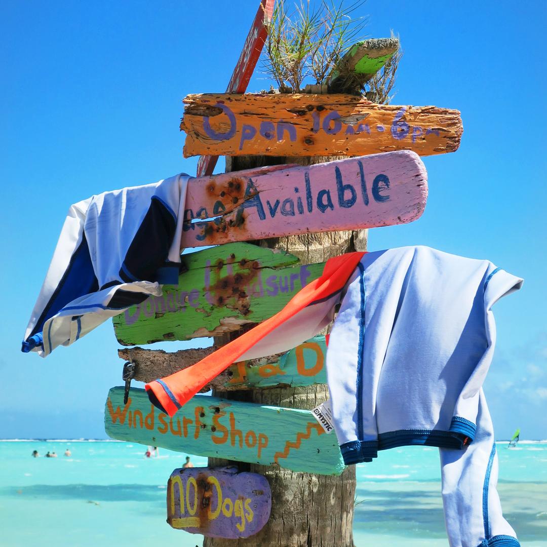 Gelezen op Bonaire: met de scooter naar Sorobon (hotspot)