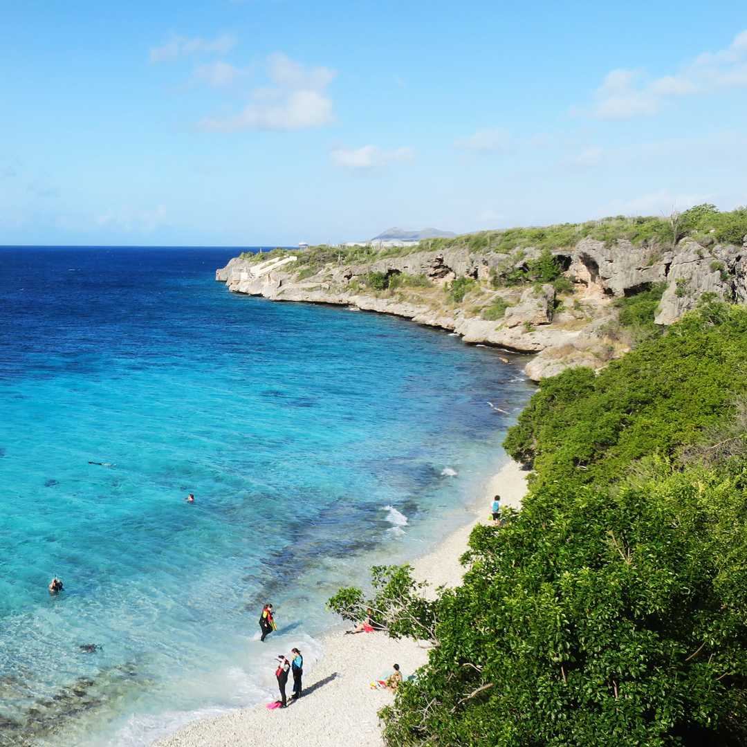 Gelezen op Bonaire: 1000 steps (hotspot)