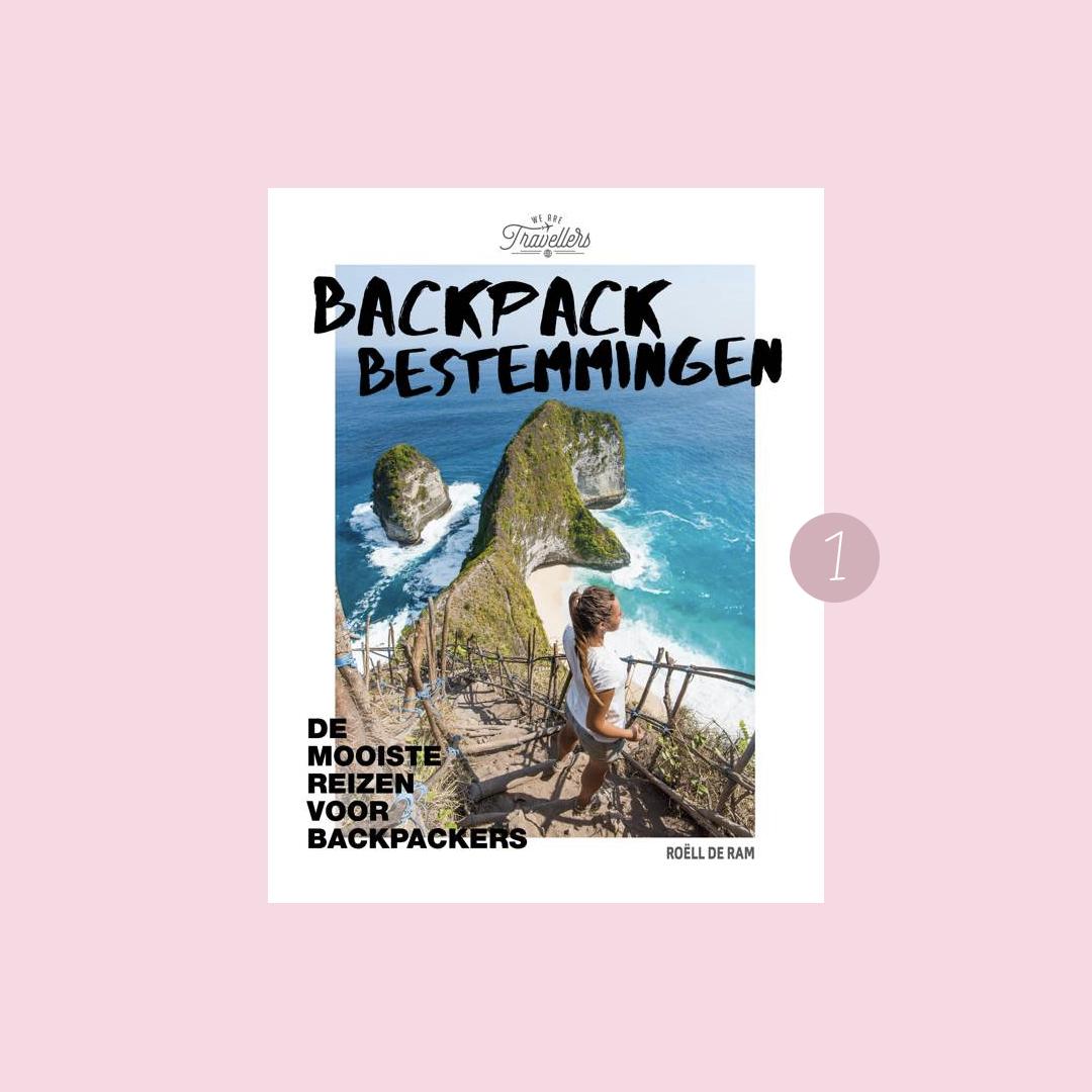 9x boeken om in vakantiestemming te komen: Roell de Ram - Backpack bestemmingen