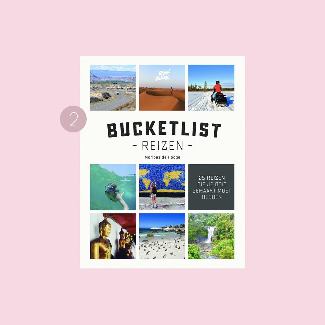 9x boeken om in vakantiestemming te komen: Marloes de Hooge – Bucketlist reizen