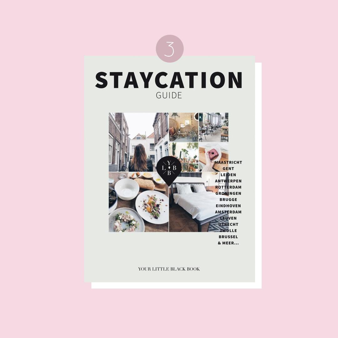 9x boeken om in vakantiestemming te komen: Anne de Buck – Staycation Guide