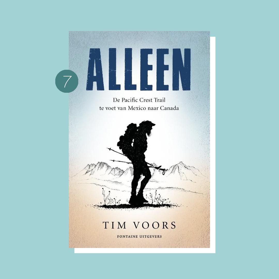 9x boeken om in vakantiestemming te komen: Tim Voors - Alleen
