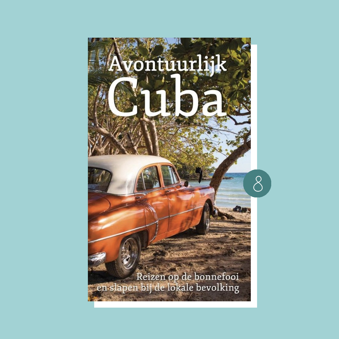 9x boeken om in vakantiestemming te komen: Digna Mielard - Avontuurlijk Cuba