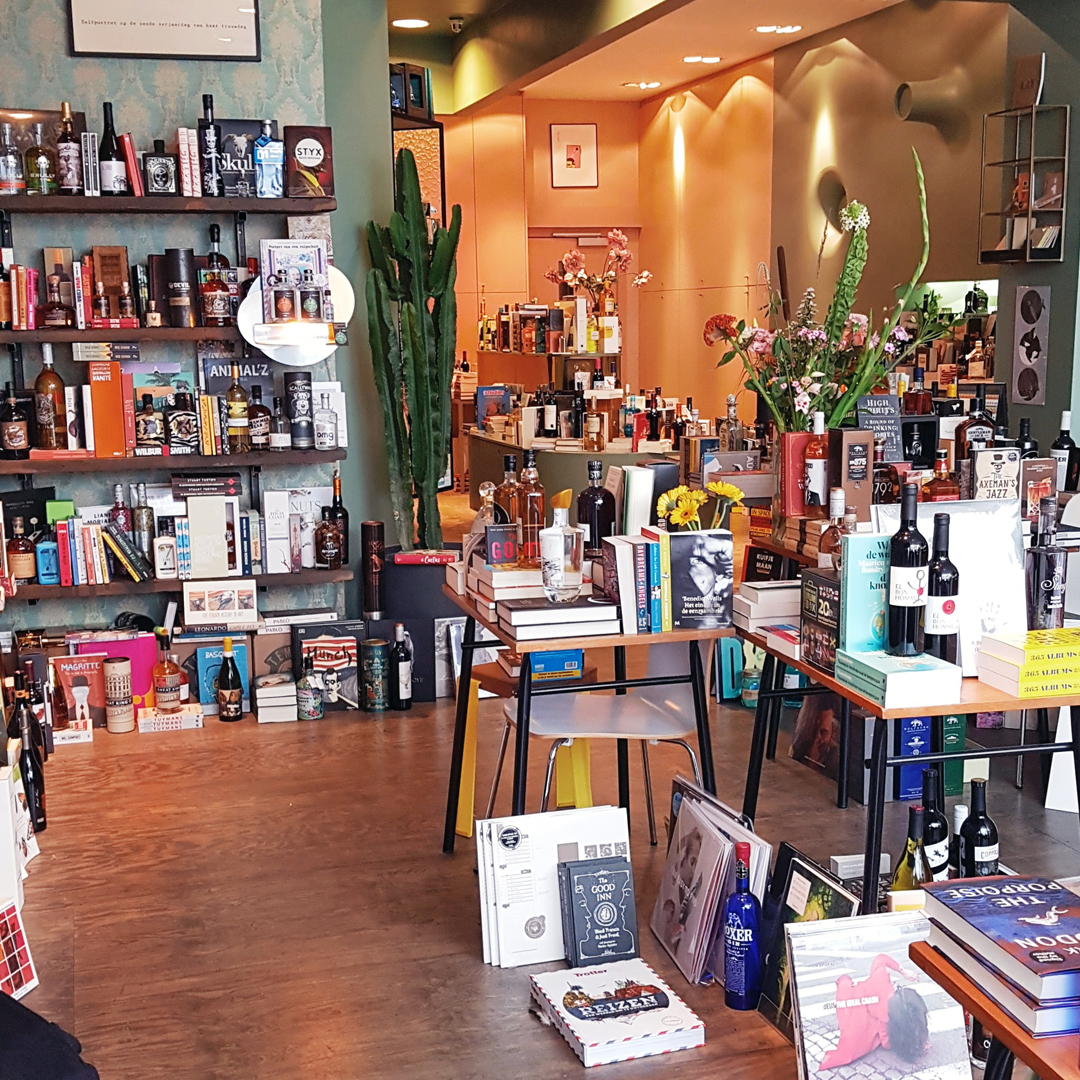 Hotspots in Gent: Bookz & Booze