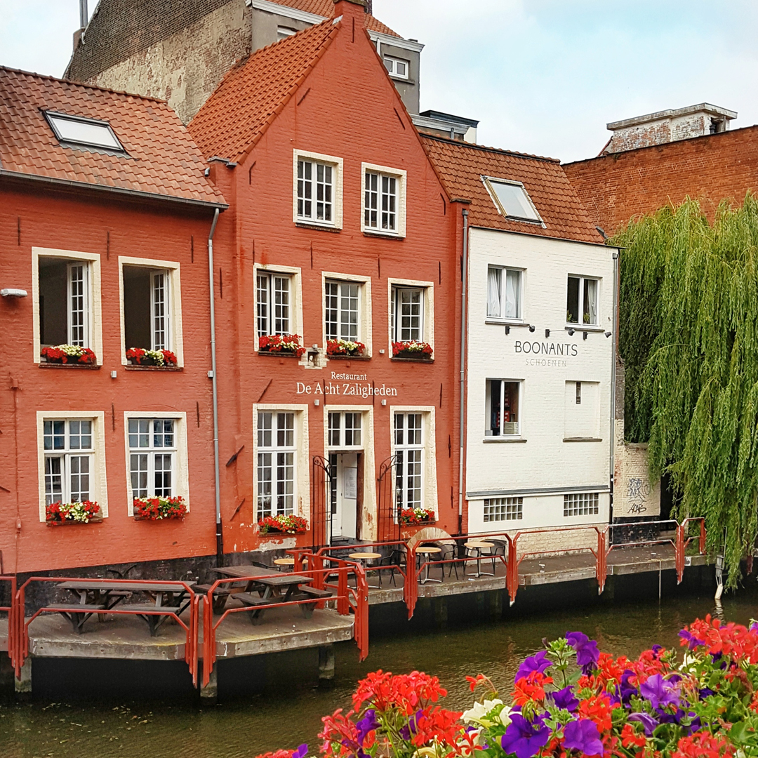 Hotspots in Gent: Zuivelbrug