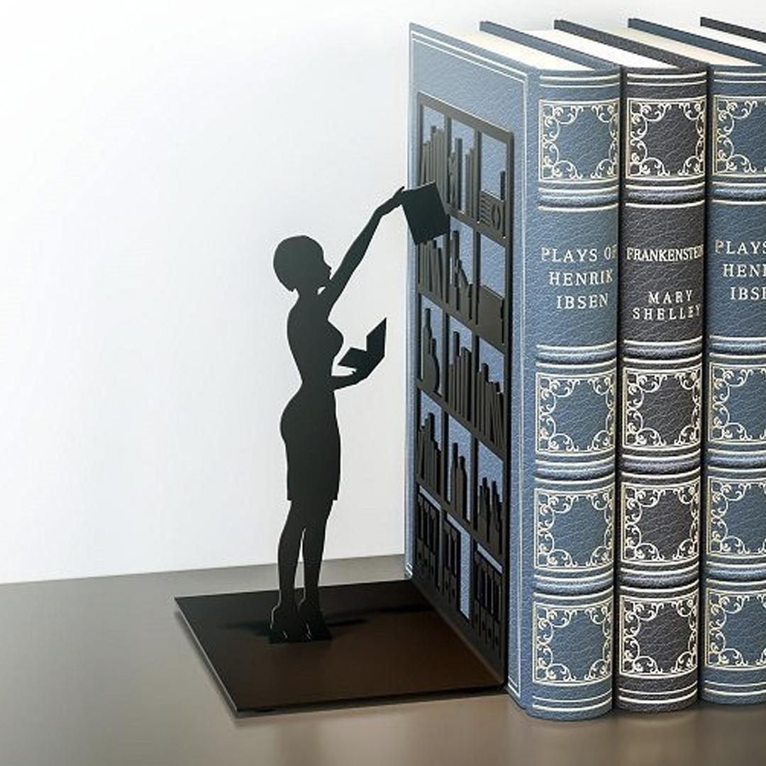De boekensteunen van Balvi