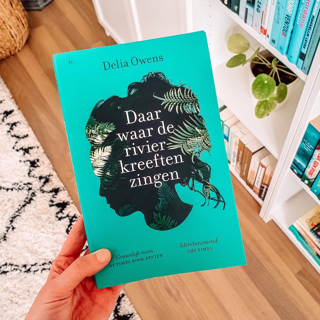 Boekrecensie: Delia Owens - Daar waar de rivierkreeften zingen