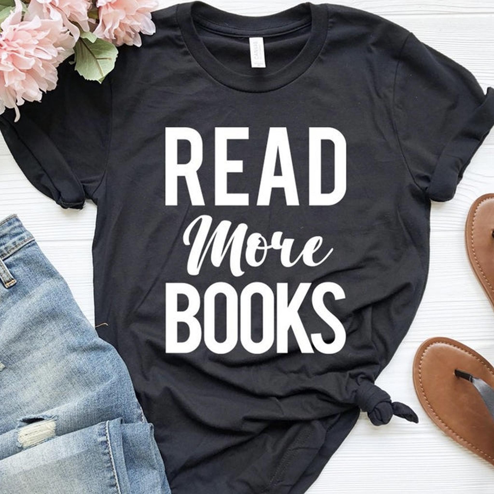Cadeautip voor Moederdag: t-shirt voor boekenfans