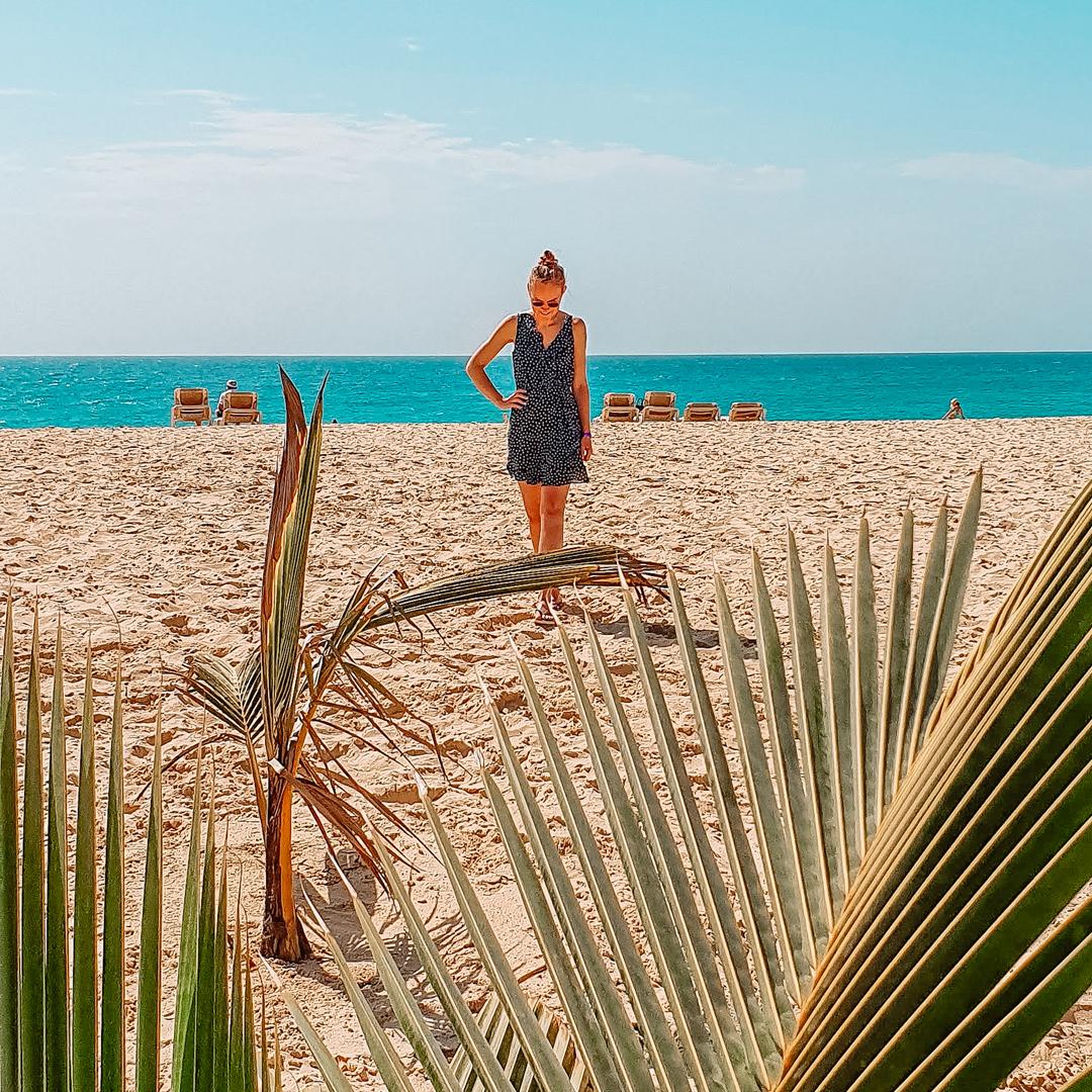 Strand van Boa Vista, Kaapverdië