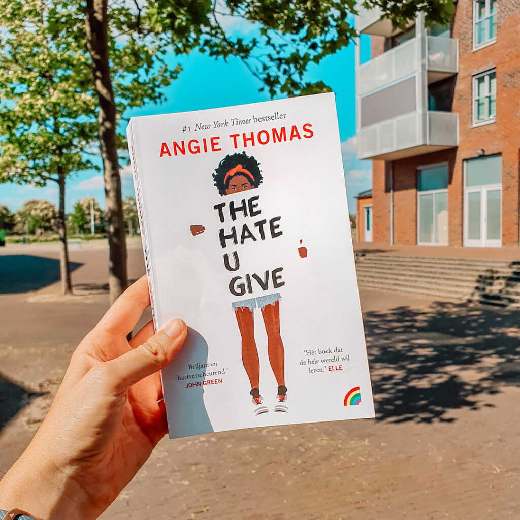 Boekrecensie: Angie Thomas - The hate u give (+winnen!)