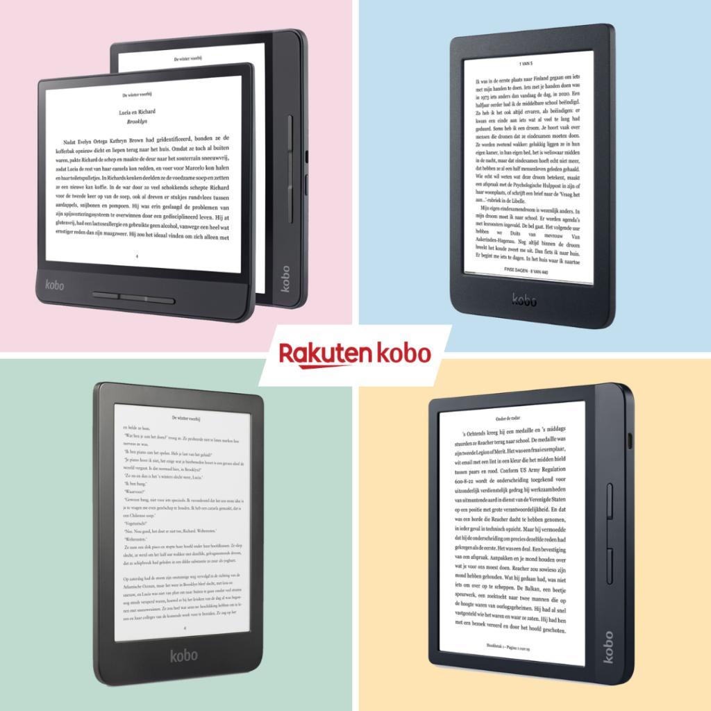 Kobo e-readers: wat zijn de verschillen?