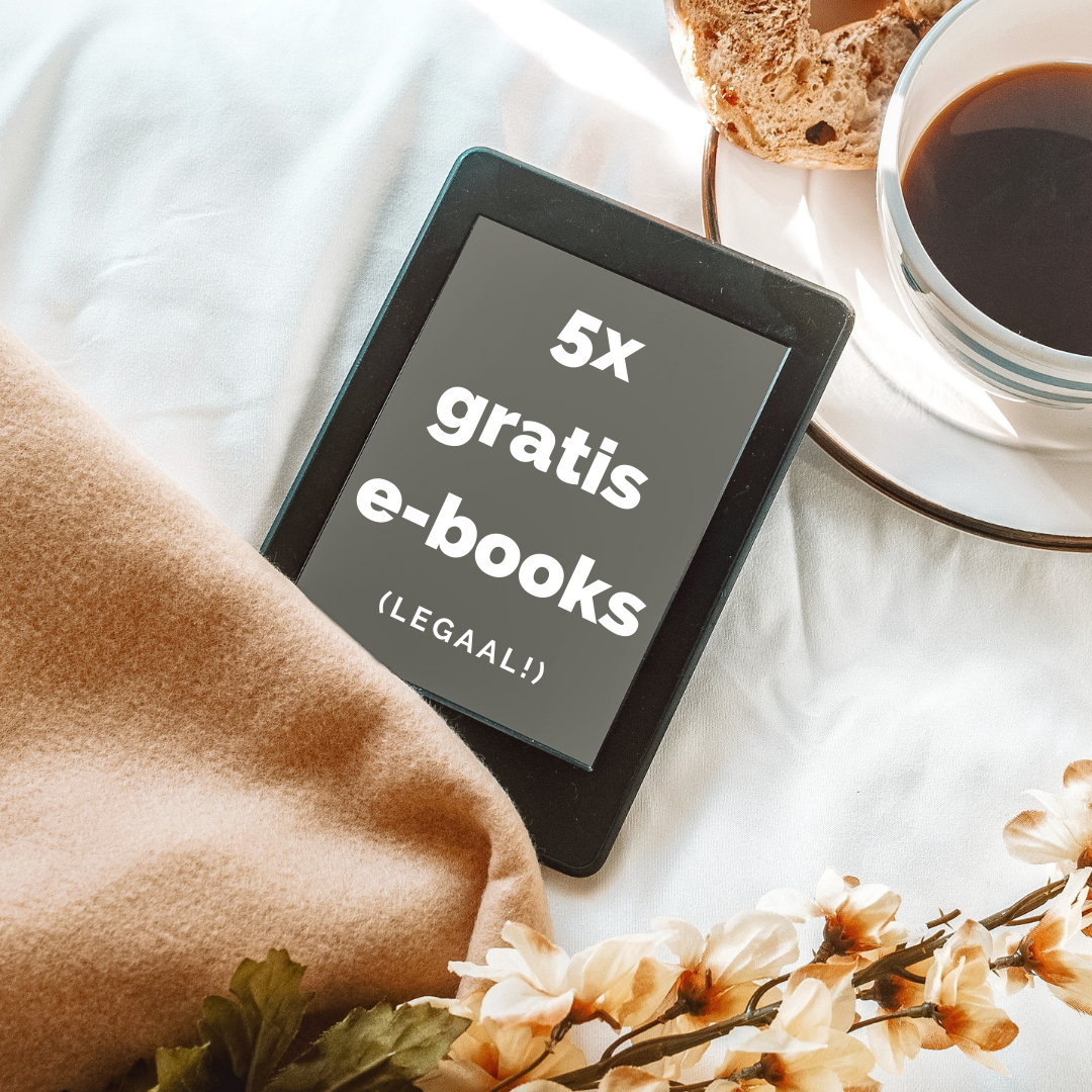 5x gratis e-books downloaden (legaal!)