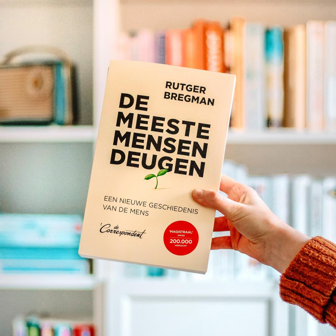 Boekrecensie: Rutger Bregman - De meeste mensen deugen