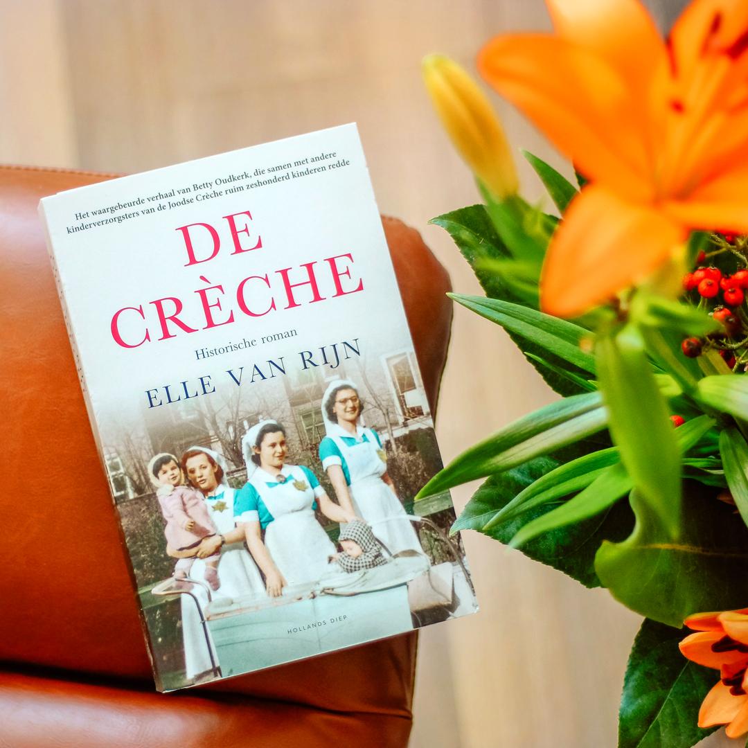 Boekrecensie: Elle van Rijn - De crèche