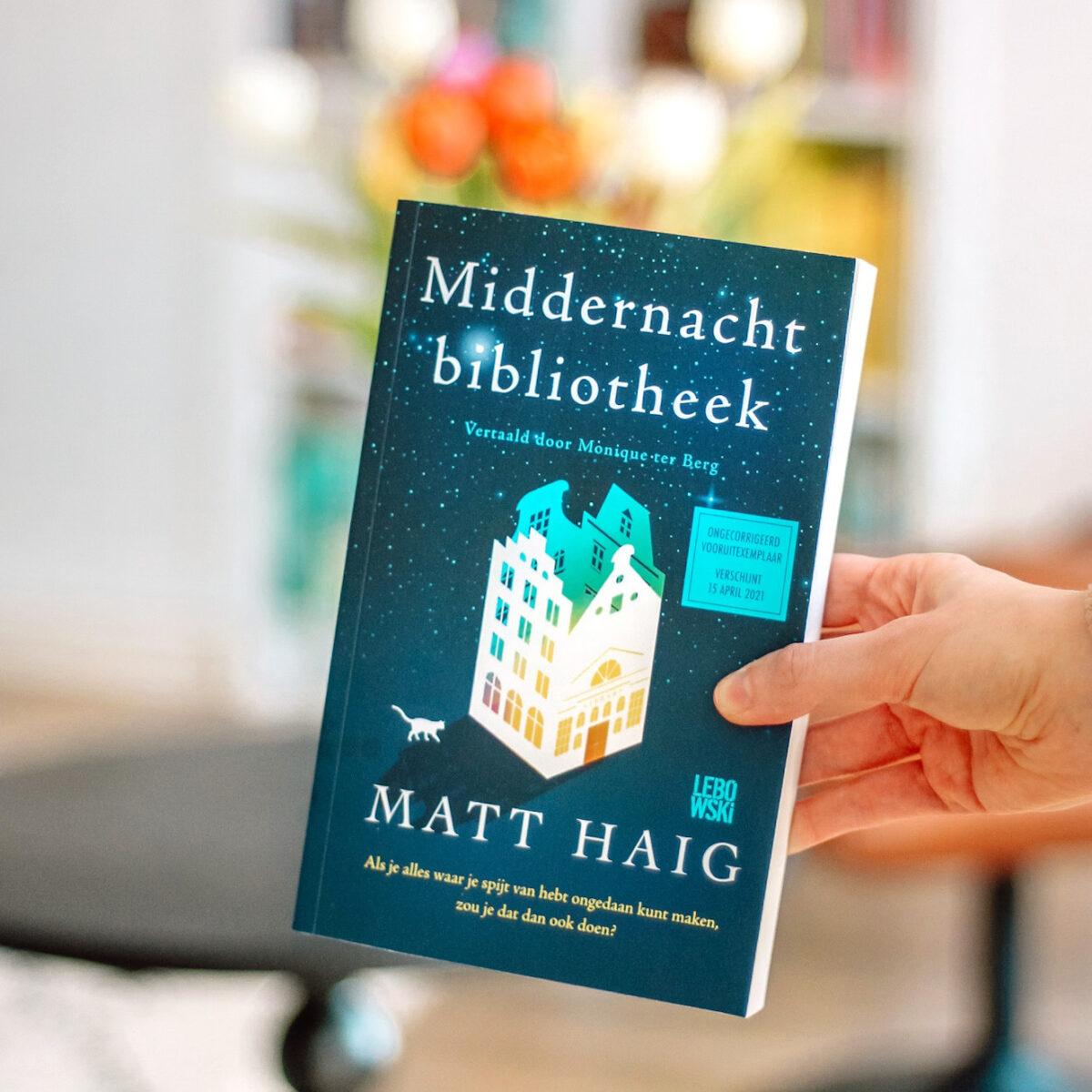 Boekrecensie: Matt Haig - Middernachtbibliotheek